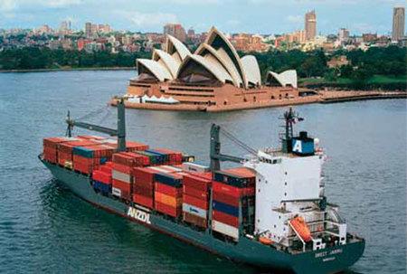 De Europa a Australia en un barco carguero