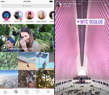Instagram Historias Geo