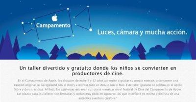 Apple estrena los campamentos de verano para niños en las Apple Store españolas