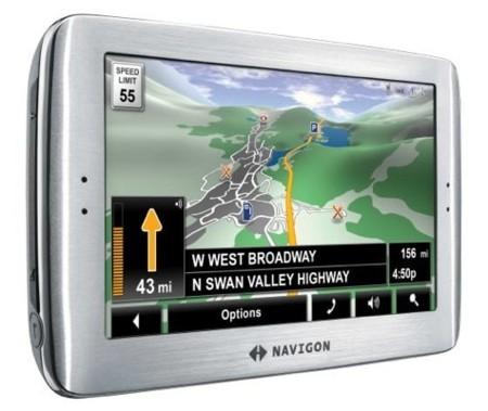 Navigon 8100T, con visualización 3D