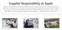 Informe de Responsabilidad de los Proveedores de Apple