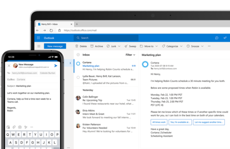 Cortana se reinventa como herramienta de productividad profesional: podrás programar reuniones y mandar mails usando el asistente de voz