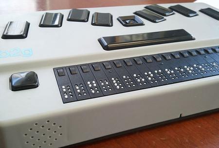 B2G, el nuevo concepto de una tablet Braille con Android
