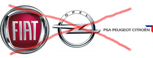 Fiat, Opel y PSA