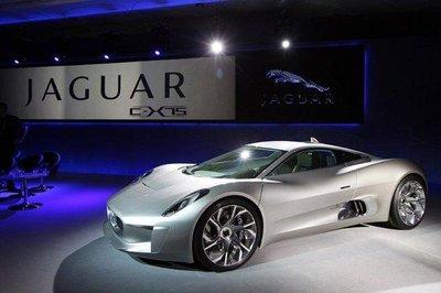 El Jaguar C-X75 se podrá ver en el centro de Madrid