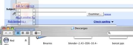 Dragdropupload, extensión que permite el drag&drop para subir archivos