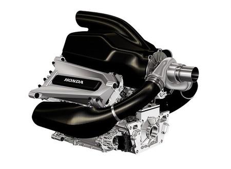 Honda nos enseña la primera imagen de su V6 Turbo