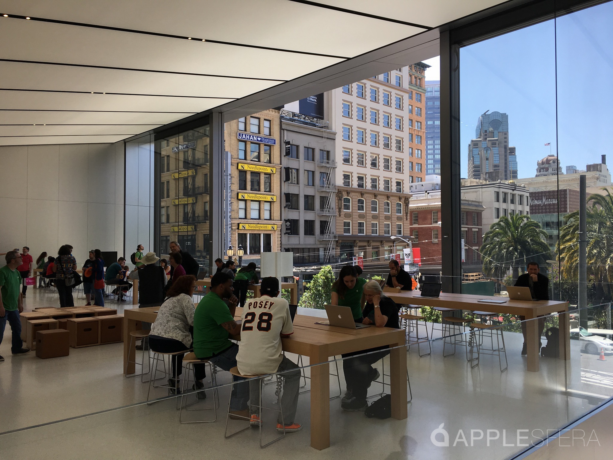 Foto de Apple Store Union Square & WWDC16 Moscone Center (14/16)