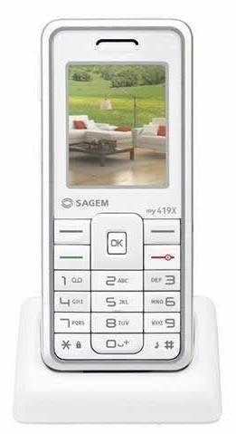 Sagem My419x, con WiFi
