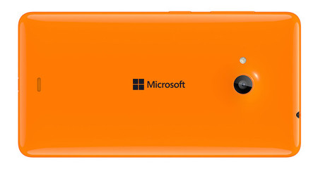 Lumia 535 Back Orange
