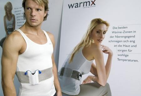 WarmX, camiseta con 3 niveles de calor