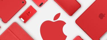 El iPhone 7 (PRODUCT)RED Special Edition no es el único: un repaso a todos los (PRODUCT)RED que ha ofrecido Apple