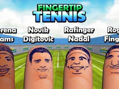 Fingertip Tennis, jugando al tenis con los dedos