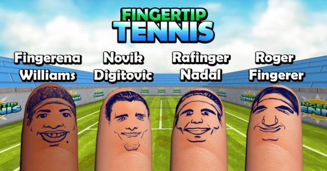 Fingertip Tennis 01