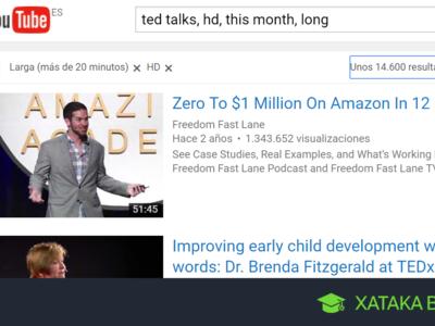 Búsquedas en YouTube: once comandos para filtrar y afinar tus resultados