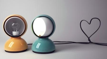 Lámpara Eclipse, inspirada en el fenómeno astronómico