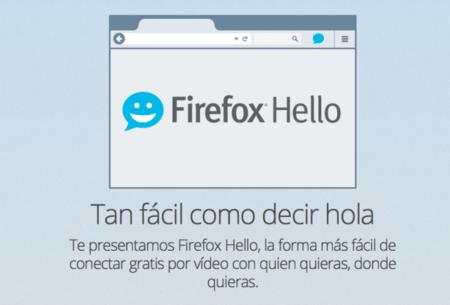 Firefox Hello, el navegador estrena conversaciones en video gratuitas para todos