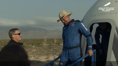 Blue Origin Mision Ns 16 New Shepard Vuelo Jeff Bezos Espacio 7