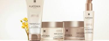 René Furterer lanza la Cura Renacimiento Absolue Kératine para pelo dañado, sin sulfatos ni siliconas, con la que presumir de melena