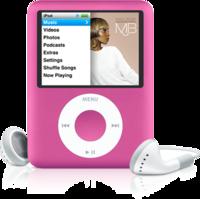 Nuevo iPod Nano 8Gb rosa
