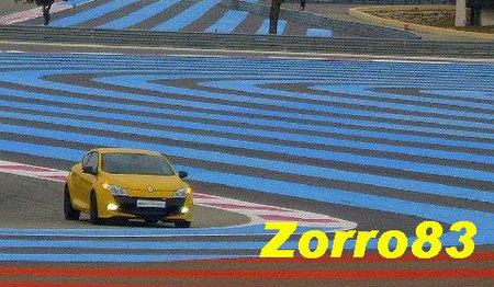 Renault Mégane RS espia