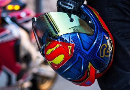 Casco Moto Hjc Superman 2020