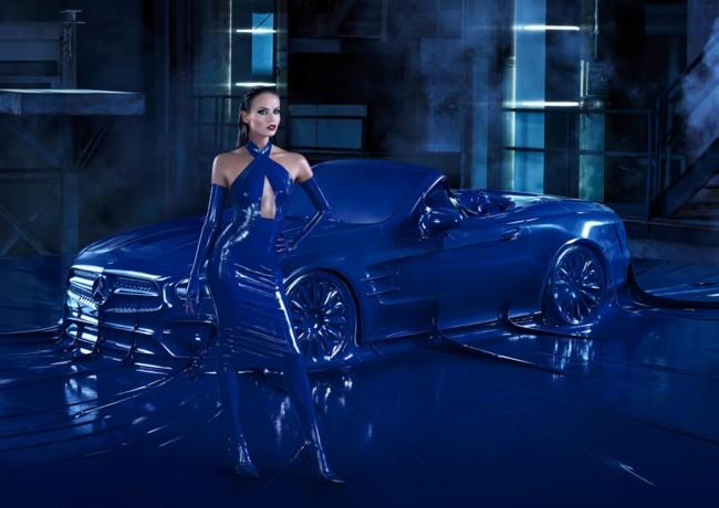 Vas a alucinar con la nueva campaña de Merceds-Benz protagonizada por Natasha Poly
