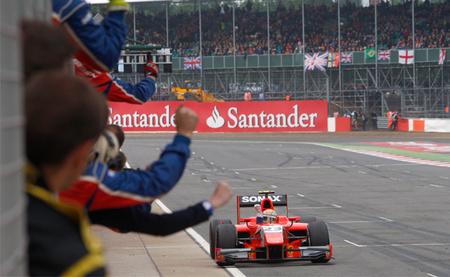 Luiz Razia Silverstone 2012
