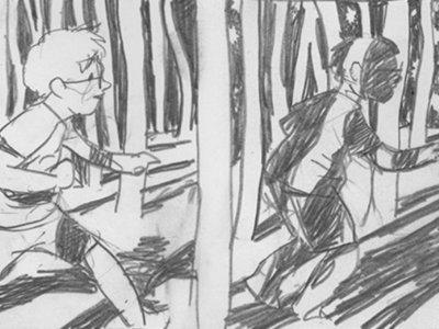 'Y nunca volvió a suceder', de Sam Alden: melancolía a lápiz