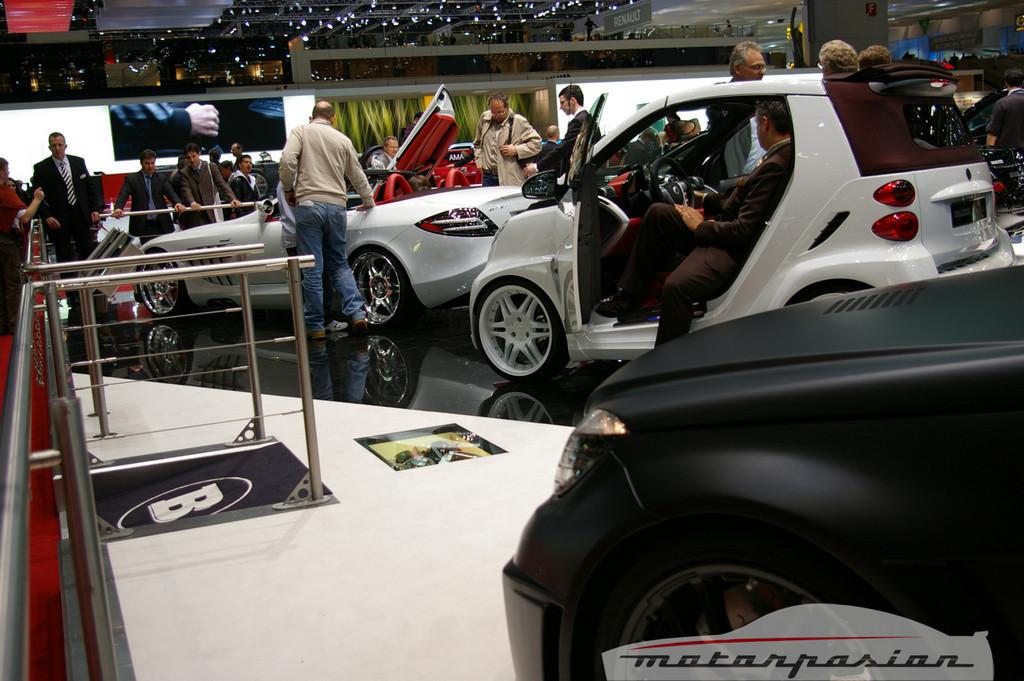 Foto de Pack Brabus: Mercedes-Benz SLR McLaren Roadster y Smart Ultimate 112 (1/18)