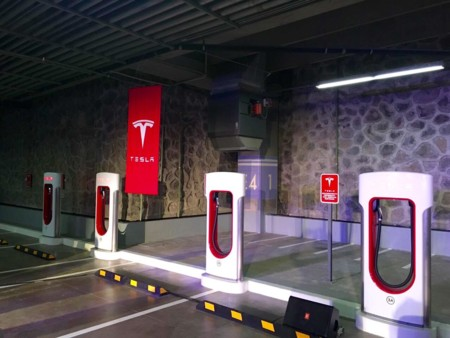 Tesla Superchargers Mexico