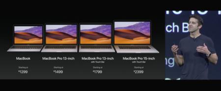 Siguen las novedades de hardware en la WWDC17: Apple presenta los nuevos MacBook Pro