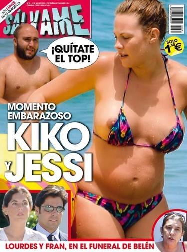 Jessica Bueno la embarazada más picantona... ¡pezonazo al canto!