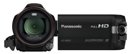 La Panasonic W850 permite grabar desde dos ángulos diferentes al tiempo