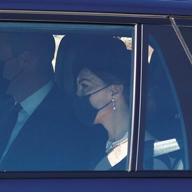 Kate Middleton se convierte en la mejor compañía del príncipe Guillermo durante el funeral del duque de Edimburgo