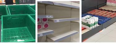 No, no hay desabastecimiento en los supermercados por el coronavirus, solo preocupación (aunque veas fotos con estanterías vacías)