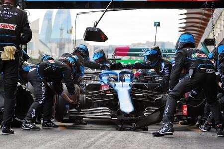 Alonso Baku F1 2021