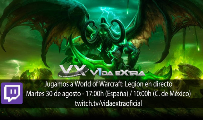 World Of Warcraft Legion Directo