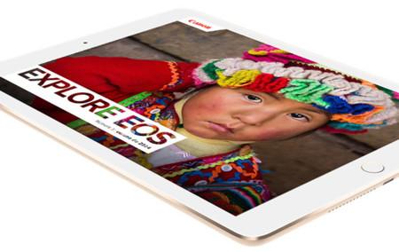 Explore EOS para iPad, una interesante lectura sobre fotografía digital