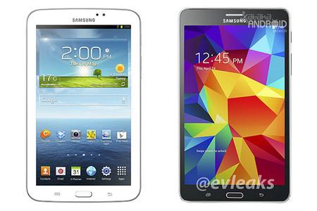 Galaxy Tab 3 vs Galaxy Tab 4