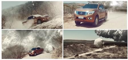 Video: Así es como la Nissan NP300 puede hacer que llueva en lugares desérticos