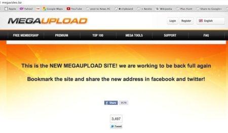 ¿Está Megaupload intentando volver a estar online bajo otro dominio?
