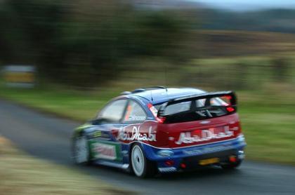 Mikko Hirvonen el más rápido del Shakedown irlandés