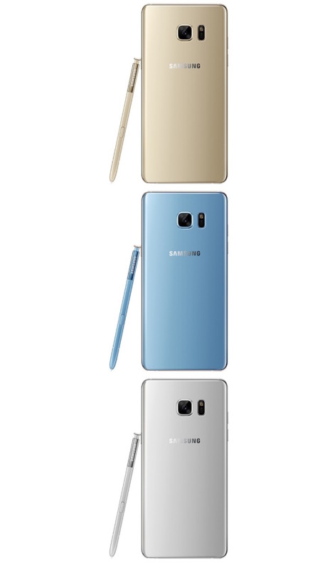 Samsung Galaxy Note 7 Leak Colores 4