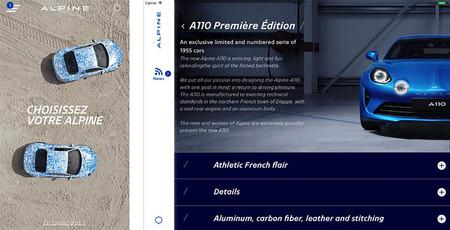 Alpine premiere edition app