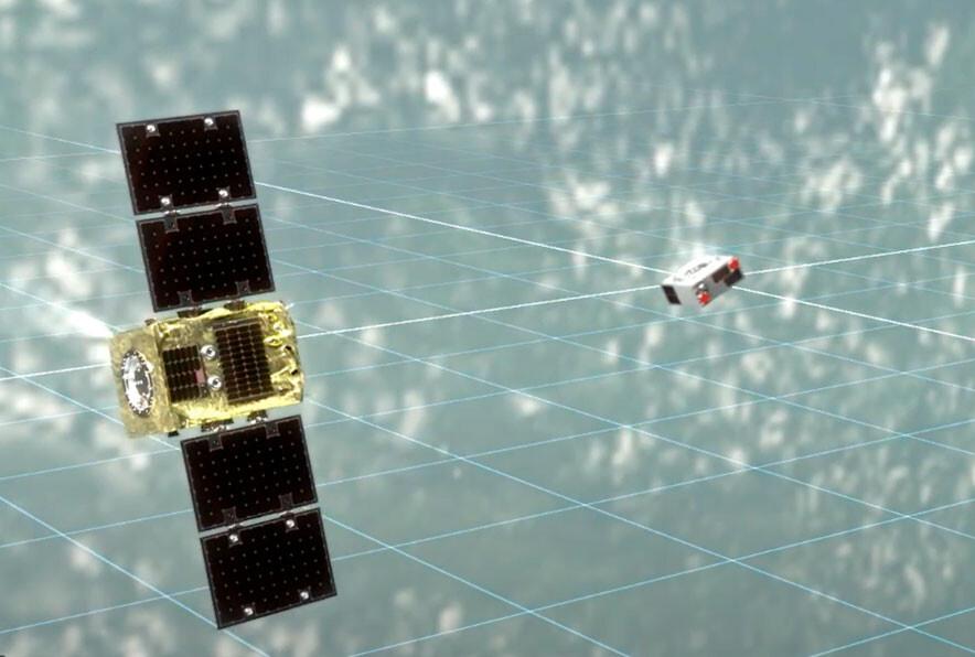 El superimán de ELSA-d funciona: la misión anti-basura espacial captura por primera vez un objeto en órbita