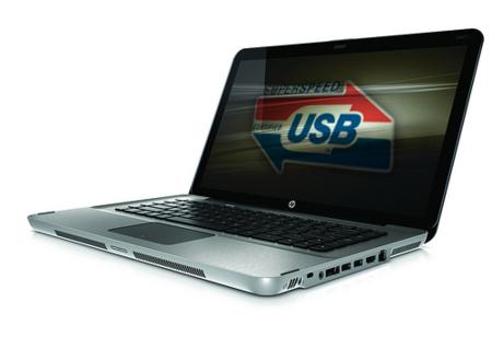 HP presenta el primer portátil con conexión USB 3.0