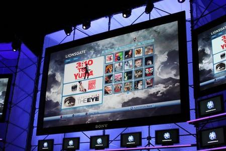 E3 2008: Sony presenta su servicio de películas para la PlayStation Store