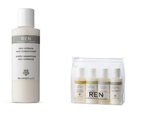 Acondicionador REN pro-vitaminado para todo tipo de pelo. Lo hemos probado