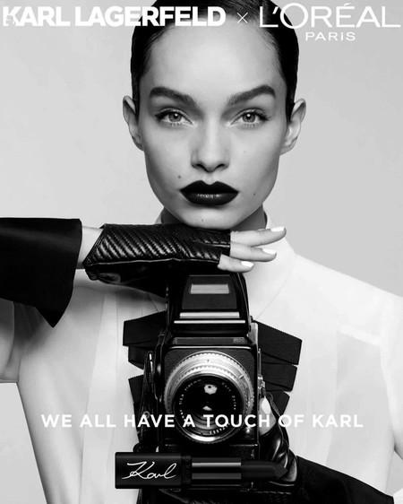 Loreal Paris Karl Lagerfeld Makeup Campaign03
